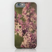 iPhone & iPod Case featuring My Lilac by KunstFabrik_StaticMovement Manu Jobst