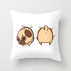 Puglie, the cake is a lie! Throw Pillow