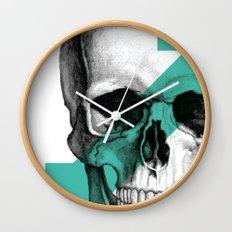 skull7 Wall Clock