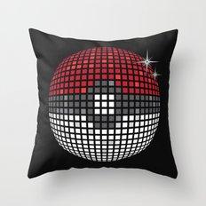 Discopoke Throw Pillow