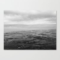 Out At Sea Canvas Print