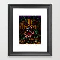 La Vengeance Des Citroui… Framed Art Print