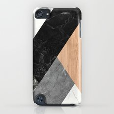 Marble and Wood Abstract iPod touch Slim Case