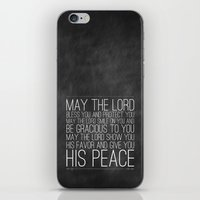 Numbers 6:24-26 The Bles… iPhone & iPod Skin