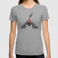 Volcano Womens Fitted Tee Athletic Grey SMALL