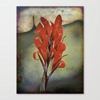 Churchyard Flower Canvas Print