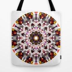 Donkey Flower Kaleidoscope  Tote Bag