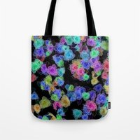 Roses Color Tote Bag