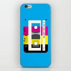 CMYK Mix tape called life iPhone & iPod Skin