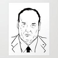 Anthony John Soprano Art Print
