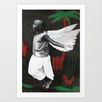 Florence In Flight Art Print