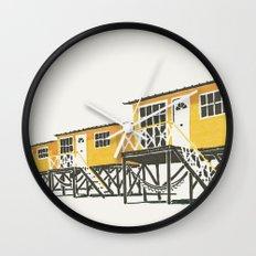 On Paper: Tres Amarillos Wall Clock