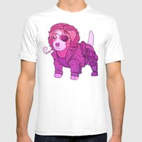 Kurt Russell Terrier - S… Mens Fitted Tee White SMALL