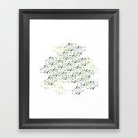 Illusionist Framed Art Print
