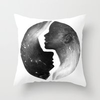 I'm With You I Throw Pillow