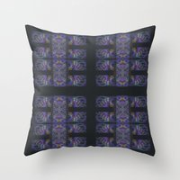 The Calligraphers Madnes… Throw Pillow