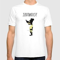 Sadomouse Mens Fitted Tee White SMALL