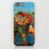 hand iPhone & iPod Cases featuring Elephant's Dream by Waelad Akadan
