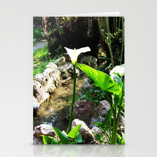 THE OTHER WORLD Stationery Card