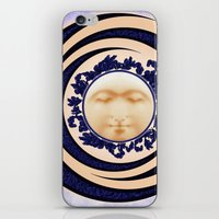 Nouveau Spring Moon iPhone & iPod Skin