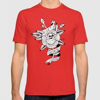 Get Worse Soon Mens Fitted Tee Red SMALL