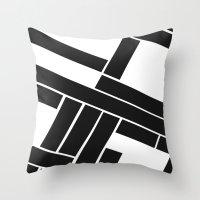 MAKES YOU GO AROUND Throw Pillow