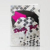 Dirty Bit Stationery Cards