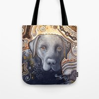 Rudy ... Abstract Dog Ar… Tote Bag