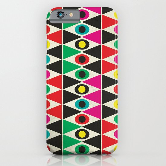 triangle pattern iPhone & iPod Case