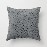Water Beads Throw Pillow