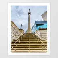 The CN Tower Art Print