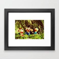 Duck Tales Framed Art Print
