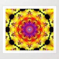 Mandala - Vitality Art Print