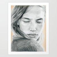 Peach Dreams Art Print