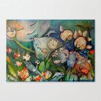 SINFONIA Canvas Print