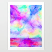 The Calm and The Storm Art Print