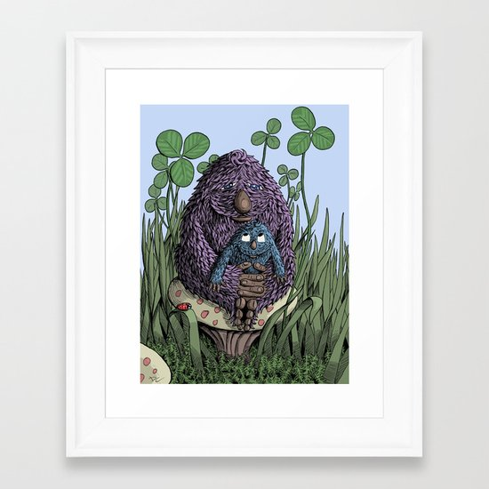 Mom Framed Art Print