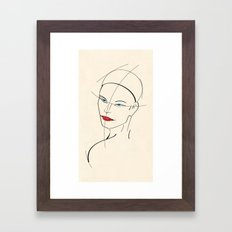 Figure Study Framed Art Print