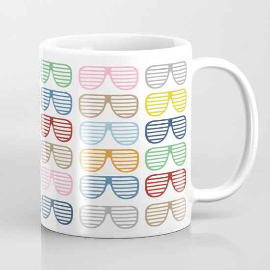 Rainbow Shutter Shades Mug
