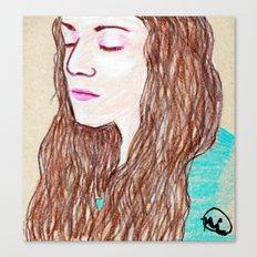 Brittany Portrait Canvas Print