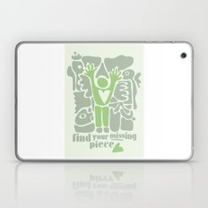Find your missing piece Laptop & iPad Skin