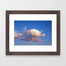 Big Sky Country  Framed Art Print