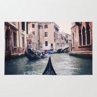 Venice by Gondola Rug