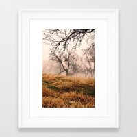Natural Mystic In The Ai… Framed Art Print