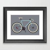 Classic Road Bike Framed Art Print