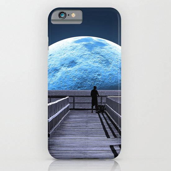 Once in a blue moon iPhone & iPod Case
