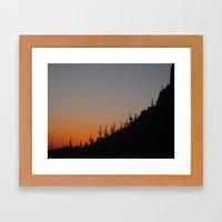 Tucson, AZ Framed Art Print