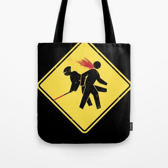 Ninja X-ing Tote Bag