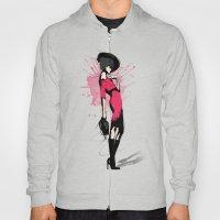 Pink Dress - Fashion Ill… Hoody