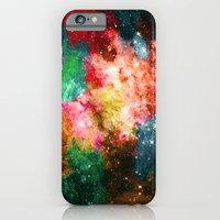 Rainbow Galaxy iPhone 6 Slim Case